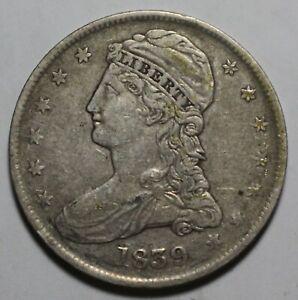1839 Bust Half Dollar ZC160