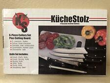 KucheStolz Precision Crafted 6-Piece Cutlery Set - NEW