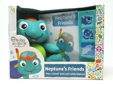 Baby Einstein Neptune's Friends Play A Sound Book and Neptune Plush Music 18m+