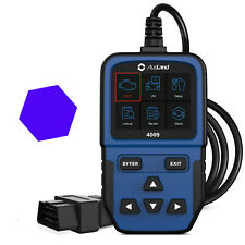 OBD2 Automotive Scanner Code Tool Reader With Live Engine Data EOBD Diagnostic
