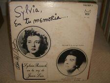 Juan Luis Interpreta Sylvia Rexach - Sylvia en Tu Memoria - LP in Good Conds L5