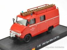 Firefighters OPEL BLITZ LF8 TSA 1962 Fire Truck 1:72 Diecast Ixo Atlas