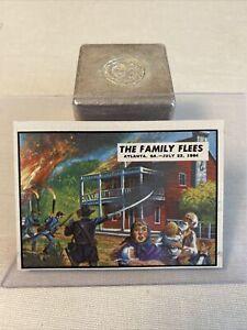 1962 Topps Civil War News pack fresh Nm/Mint-Mint  No Wear #75 The Family Flees