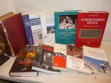 OFFERTA 10 libri CONCILIO VATICANO II Storia Testimonianze Ermeneutica Lettere..