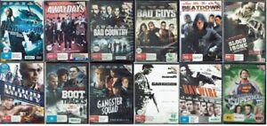Ex Rental DVD Action Movies - Region 4