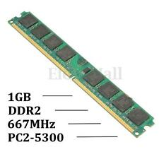 1.8V 1GB DDR2 PC2-5300 667MHz DIMM AMD Motherboard Desktop PC Memory RAM 240-pin