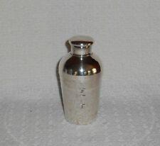 Napier Silver Plate Single Serve Cocktail Shaker