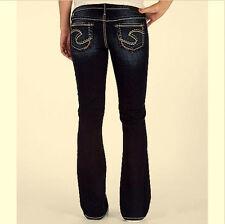 SILVER Jeans AIKO Bootcut Womens PLUS 22 x 31 3X Faded Dark Wash Boot Cut TORRID