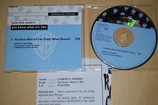 Gabriela Anders ‎– You Know What It's Like + info sheet CD-Single promo (CP1711)