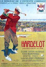 Affiche touristique - Hardelot