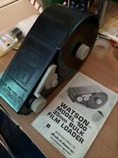 Watson 100 Daylight Bulk 35mm film loader with manual