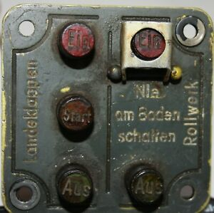 Landeklappen und Rollwerkschalter (li.Seitenbank FW190)