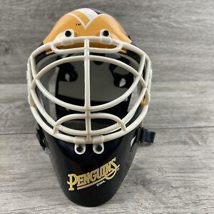 NHL Pittsburgh Penguins Mini Goalie Mask Hockey Riddell Mini Helmet