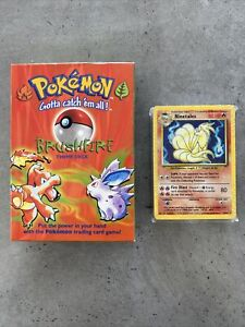 Pokemon Brushfire Theme Deck 1999 - Sealed Card Deck And Complete Packaging