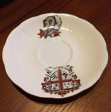 Royal Albert Saucer,  A MAN'S CUP, Fluted Countess, Arthur Ferrier, 1950s - 60's