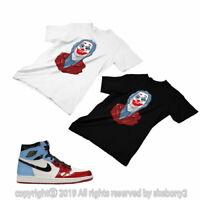 T SHIRT MATCHING STYLE OF Air Jordan 1 Retro High Fearless Chicago JD 1-51-7