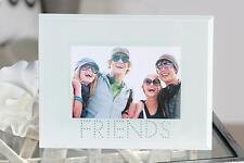 Deko-Standrahmen aus Glas mit Familie- & Freunde-Thema