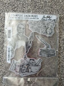 Tim Holtz Stampers Anonymous Rubber Stamps The Chemist
