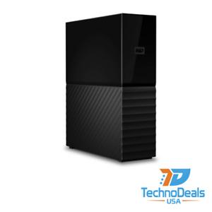 Western Digital My Book 8TB Desktop Hard Drive - WDBBGB0080HBK-NESN