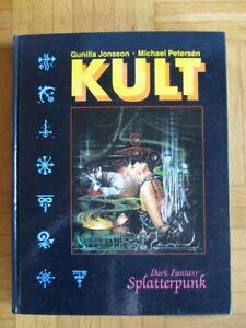 Kult Grundregelwerk – Dark Fantasy Splatterpunk Rollenspiel – Hardcover FSK16