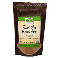 NOW Foods Dry Roasted Carob Powder, 12 oz.