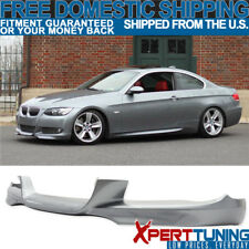 Fits 07-10 Bmw E92 E93 3-Series M-Tech Msport Front Lip # A52 Painted Space Gray (Fits: Bmw)