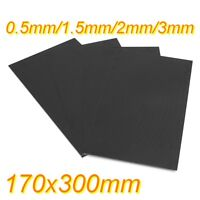 170x300mm Black Glassfibre Sheet Epoxy Glass FR4 Fibreglass Plate 0.5 to 5mm