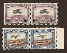 South West Africa AP SG 86-87 pairs se-tenant,M lightly hinged superb