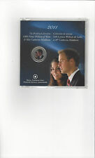 **2011**, The Wedding Celeb. William & Kate $.25 Cent Coin**