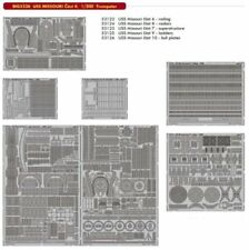 Eduard 1/200 USS Missouri BB-63 parte II Big-ed Set # 5326