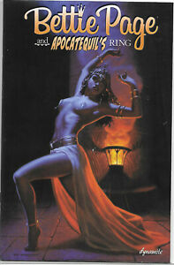 Bettie Page & Apocatequils Ring Kickstarter Spicy Pages & Cards Curse Banshee 1