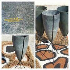 Architectual Pottery Fiberglass Bullet Planters #324 ZENITH Eames ORIGINAL MCM