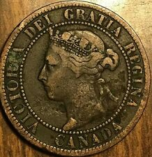 1899 CANADA LARGE 1 CENT PENNY
