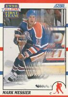 Mark Messier 1990-91 Score #315 '1990 First Team All-Star' Oilers - Like New