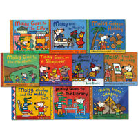 Lucy Cousin Maisy Mouse Collection 10 Books Set Maisy Goes to Nursery, Holiday