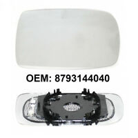 Right Side Wing Door Mirror Glass Heated Base For Toyota Yaris 1999 - 2003