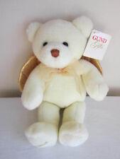 Gund A Gift From Heaven Angel Bear Ivory Gold Wings Plush Stuffed Animal 88854
