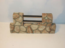 Miniature Stone Wall Horse Jump Accessory For Byers Choice