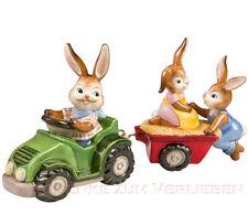 Goebel Hasen Eine lustige Traktorfahrt Gartenhasen Ostern Neuheit 2014