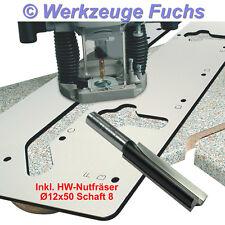 IGM Frässchablone Küchenarbeitsplatten + HW-Nutfräser S8, Arbeitsplatten