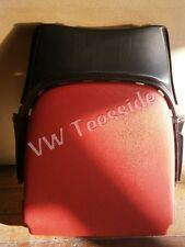 original Audi Coupé TT siège avant plaque arrière rouge soie cuir nappa
