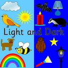 LIGHT AND DARK topic resource CD- Science, Owl who was Afraid of the Dark, Night