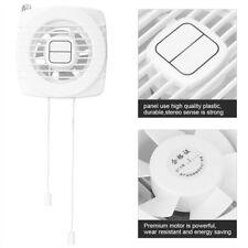 Aspiratore Aria da Vetro Muro Ventilatore Ventola Elimina Odori 12W Per Bagno