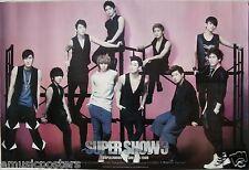 "SUPER JUNIOR ""SUPER SHOW 3"" ASIAN POSTER - Korean K-Pop Music, Boy Band"