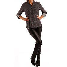 Mehrfarbige Damenblusen,-Tops & -Shirts im Blusen-Stil mit Langarm-Ärmelart