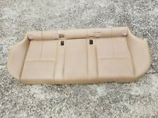 BMW E39 525iT 528iT 540iT Touring Wagon leather rear seat bottom bench