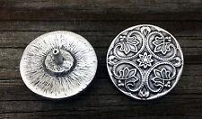 Decorative Round Renaissance Style Pewter Rivet Concho #0904