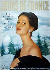 GIORNI DI FRANCIA 1963: CLAUDIA CARDINALE_GINA LOLLOBRIGIDA_JEANNE moreau_il PTT