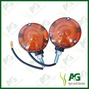 Side Light Lollipop Type (Pair) suits Massey, Ford, International