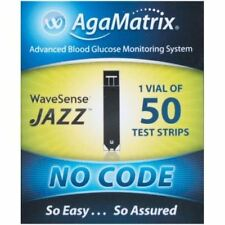AgaMatrix WaveSense Jazz Test Strips x 50